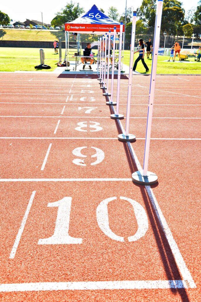 caulfield little athletics timing gates bookings