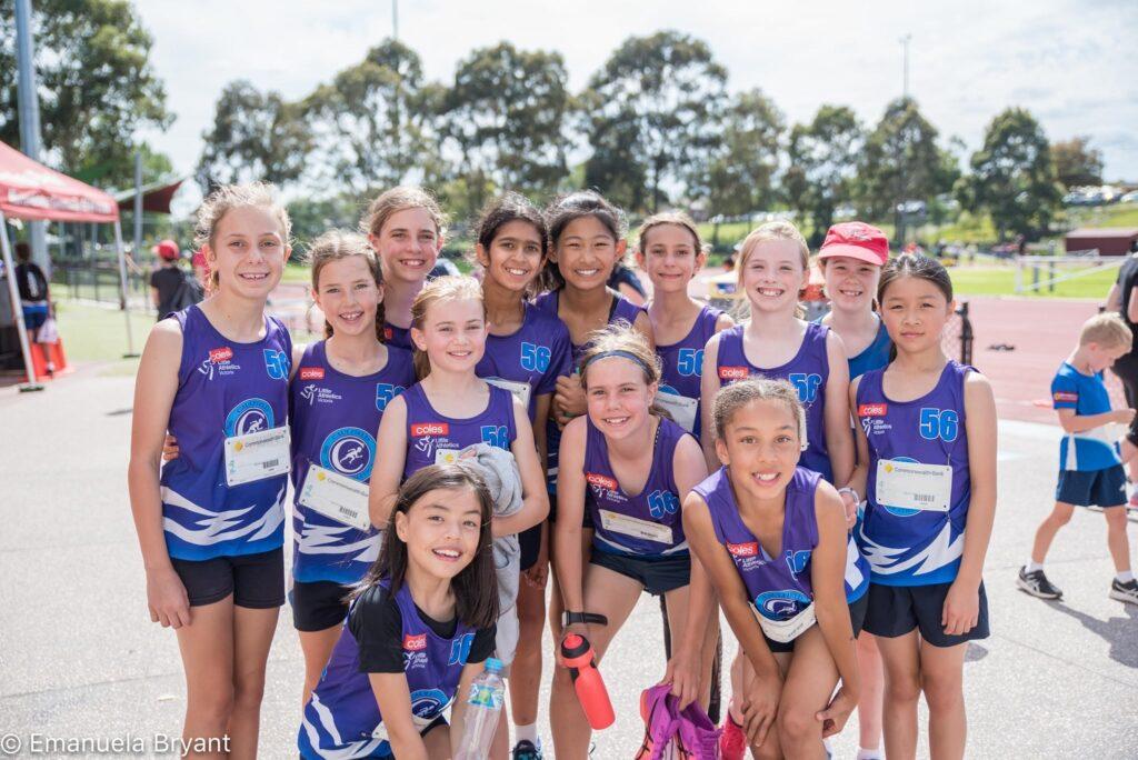 caulfield little athletics
